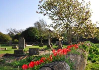 St Mary Virgin Church North Shoebury Rebuilding the Churchyard Wall 2018 2