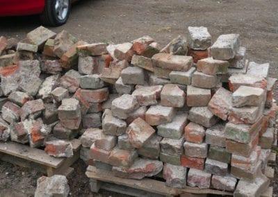 St Mary Virgin Church North Shoebury Rebuilding the Churchyard Wall 2018 4