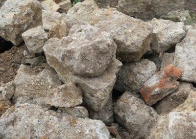 St Mary Virgin Church North Shoebury Rebuilding the Churchyard Wall 2018 5