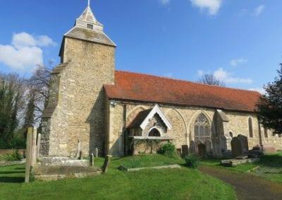 St Mary Virgin Church North Shoebury Springtime 2019 5
